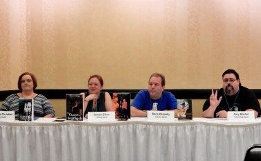 Panel: The Flawed Hero with Alexandra Christian, Tamsin Silver, Darin Kennedy, and Gary Mitchel, 7-15