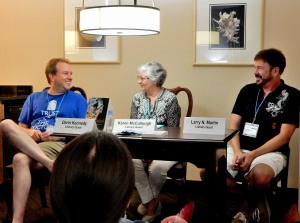 Panel: Side Kicks - Who Needs Them with Darin Kennedy, Karen McCullough, and Larry N. Martin, 7-15