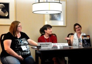 Panel: Finding the Right Editor with Melissa Gilbert, Sharon Stogner, and Leona R. Wisoker, 7-15