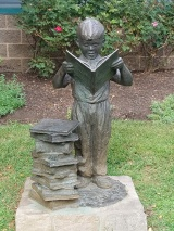 Sculpture at Doylestown Library