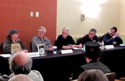 "Panel: ""Generating a Balonium Field: Pseudoscience in SF Storytelling"" with Joan Wendland, Earl Bennett, John Ashmead, Lawrence Kramer, and Lawrence M. Schoen, 11-19"