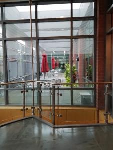 Princeton Library balcony