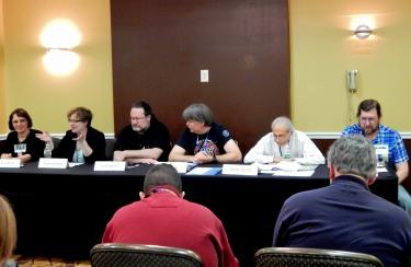 "Panel: ""Artificial Intelligence: Should We Fear the Rise of the Machines?"" with Anna Kashina, Rebecca Robare, Jon Kilgannon, Bob Hranek, Mitchell Gordon, and Jeff Warner, 11-19"