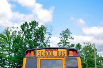 The Author Chronicles, J. Thomas Ross, Photo by Element5 Digital on Unsplash, school bus