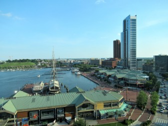 The Author Chronicles, J. Thomas Ross, Baltimore Harbor, Inner Harbor