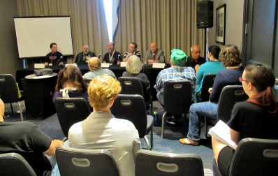 The Author Chronicles, J. Thomas Ross, Balticon, panel, editors and publishers