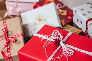 The Author Chronicles, J. Thomas Ross, wrapped presents