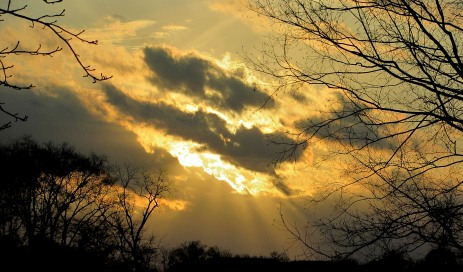 The Author Chronicles, J. Thomas Ross, late afternoon sun, clouds