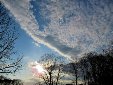 The Author Chronicles, J. Thomas Ross, late afternoon clouds, inspiration