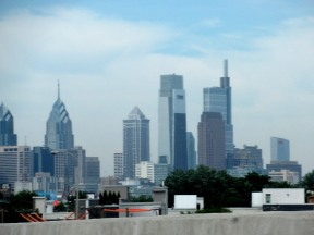 The Author Chronicles, J. Thomas Ross, Philadelphia skyline, Philadelphia Writers' Conference