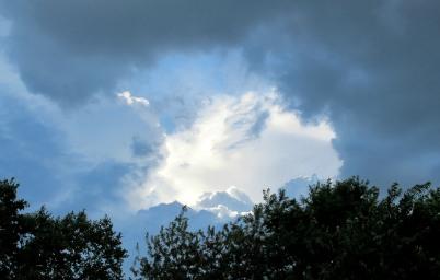 The Author Chronicles, J. Thomas Ross, afternoon storm clouds