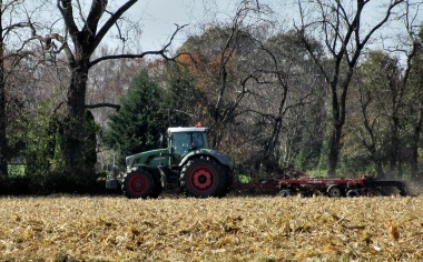 The Author Chronicles, J. Thomas Ross, Top Picks Thursday, tractor preparing field